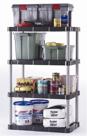 standing shelf for garage storage